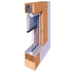 Tritscheler Wandschnitt - ThermoTon MS380 Plus Rollladen 38er