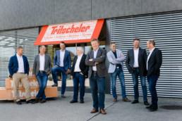 Tritscheler Aussendienstmitarbeiter Gruppenfoto